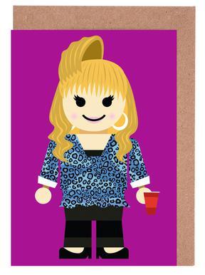 Rachel Green Toy Greeting Card Set
