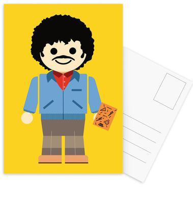 Ross Geller Toy ansichtkaartenset