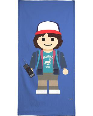Dustin Toy Bath Towel