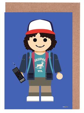 Dustin Toy Greeting Card Set