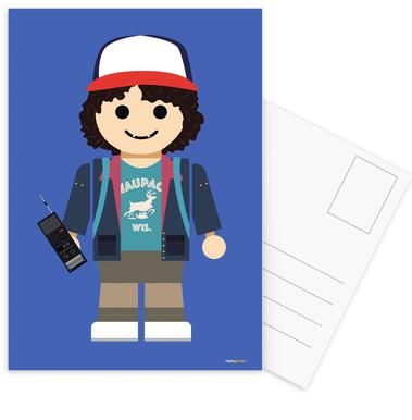 Dustin Toy Postcard Set