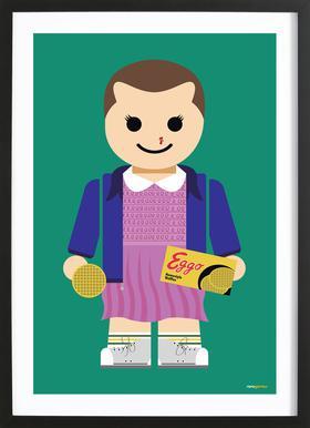 Eleven Toy Framed Print