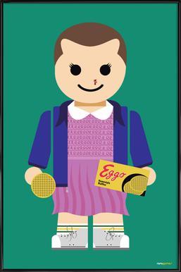 Eleven Toy Framed Poster