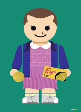 Eleven Toy Canvas Print