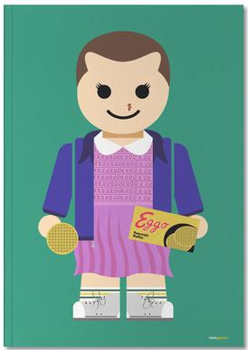 Eleven Toy Notebook