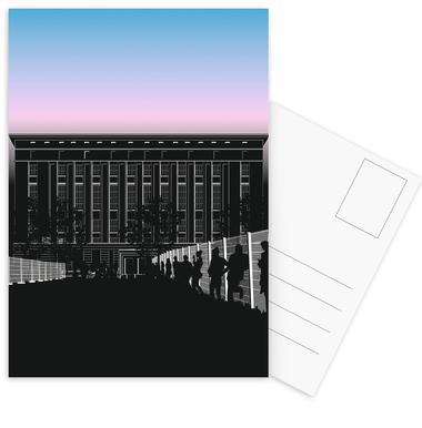 Techno Schlange Postcard Set