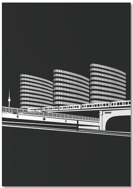 Berlin Jannowitzbrücke -Notizblock