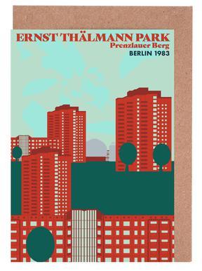 Ernst Thälmannpark cartes de vœux