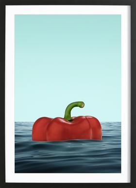 Das Pepper Framed Print