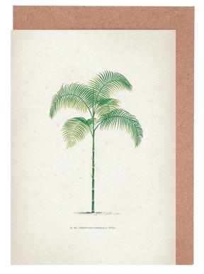 Les Palmiers 13 - Kerchove -Grußkarten-Set