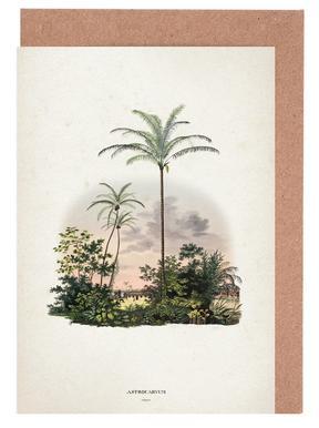 Astrocaryum Vulgare - Martius Greeting Card Set