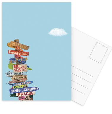 Directions cartes postales