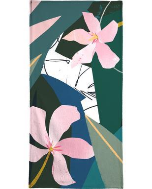 Oleander strandlaken