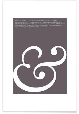 Ampersand Poster