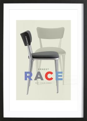Ernst Race Framed Print