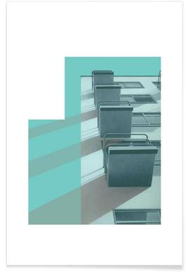 Bauhaus Blue Balconies