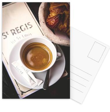 Café Postcard Set