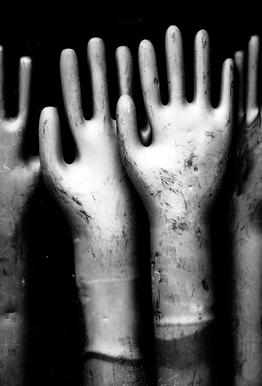 Hands Aluminium Print