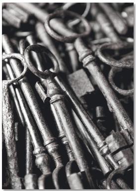 Old Keys notitieblok