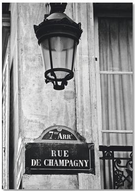Rue de Champagny Notepad