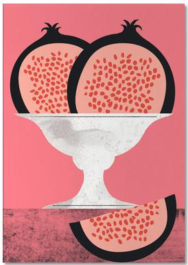Pomegranate Notepad