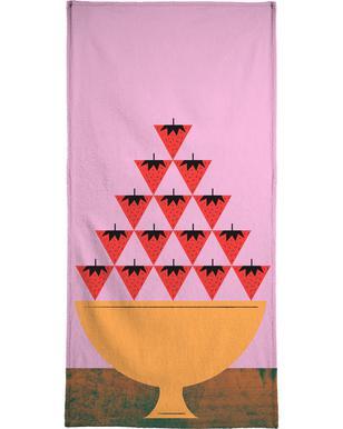 Strawberry -Handtuch
