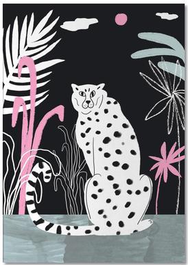 Tropicana - Cheetah and Jungle bloc-notes