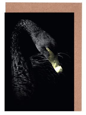 Dark Swan -Grußkarten-Set