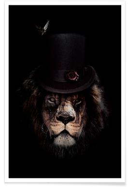 Classy Lion poster
