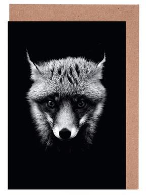 Dark Fox cartes de vœux