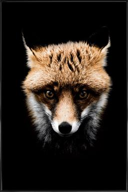 Fox affiche encadrée