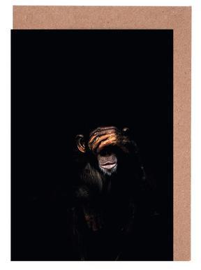 Monkey See No Evil cartes de vœux