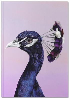 Purplish Peacock Notebook