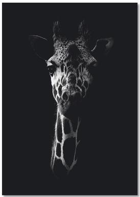 Dark Giraffe notitieblok