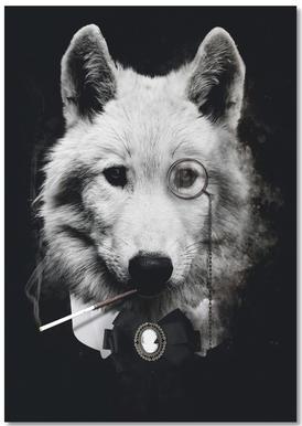 Classy Wolf notitieblok