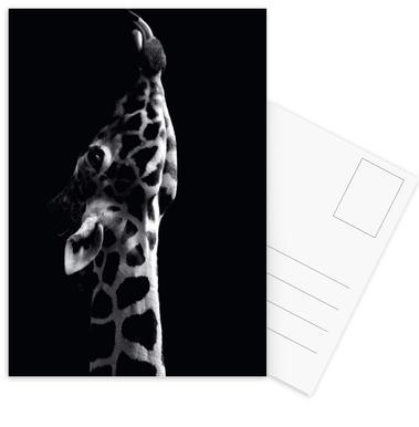 Playful Giraffe -Postkartenset