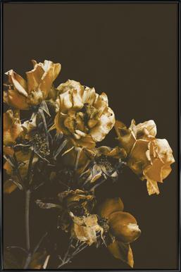 Vintage Roses Framed Poster