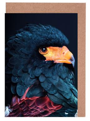 Bateleur Eagle wenskaartenset