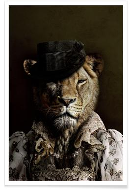 Classy Lioness poster