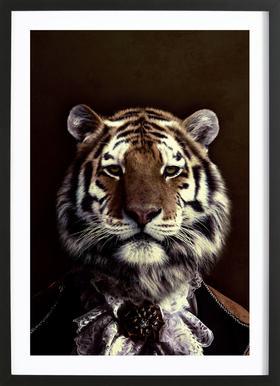 Classy Tiger 2 Framed Print