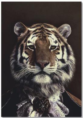 Classy Tiger 2 notitieboekje