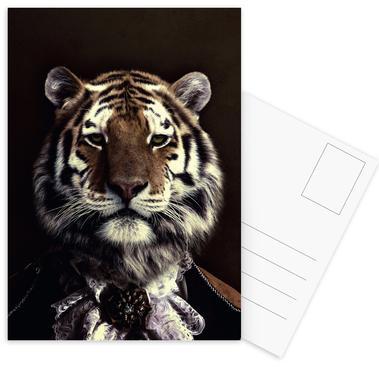 Classy Tiger 2 ansichtkaartenset