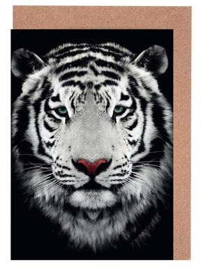 Dark Bengal Tiger Greeting Card Set