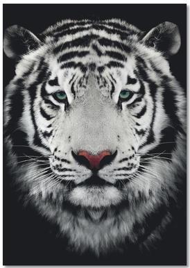 Dark Bengal Tiger notitieblok