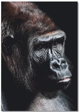 Dark Gorilla notitieboekje