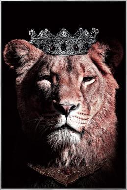 Dark Queen poster in aluminium lijst