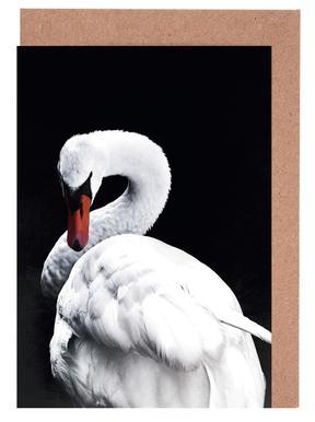 White Swan wenskaartenset