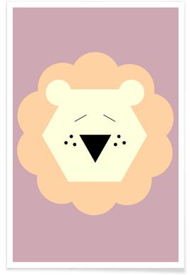 Tina the Lion Poster