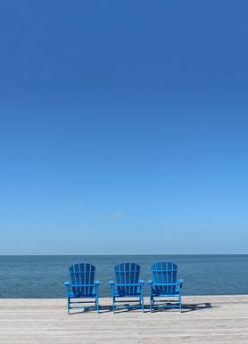 Ocean View canvas doek