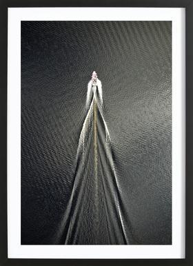 Usain Boat Framed Print